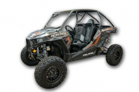 Lonestar Racing RZR XP 1000 Bolt On Roll Cage with Integrated Rear Bumper & V Bar