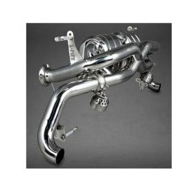 02AU00803008-ES-RPSCO13 - racingpowersports.com - Capristo Audi R8 Pre-Facelift V8 X-Pipe Exhaust System with Remote