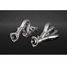 02FE02303002-RPSCO146 - racingpowersports.com - Capristo Ferrari 430 Spider High Performance Headers with Heat Shield Protectors