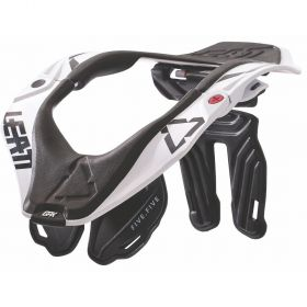 1017010121-RPSLE7 - racingpowersports.com - Leatt High Performance Off-Road Neck Brace GPX 5.5 L/XL White