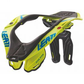 1017010130-RPSLE8 - racingpowersports.com - Leatt High Performance Off-Road Neck Brace GPX 5.5 S/M Lime