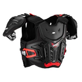 5017120131-RPSLE97 - racingpowersports.com - Leatt Chest protector 4.5 Pro Jr 147-159cm Black/Red
