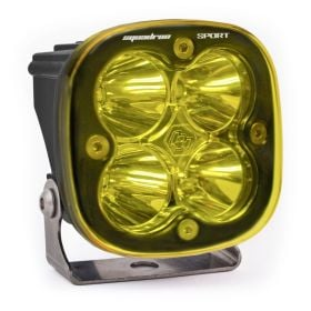550016-RPSBA1464 - racingpowersports.com - Baja Designs Squadron Sport ATV LED Light Flood Work Amber Pattern