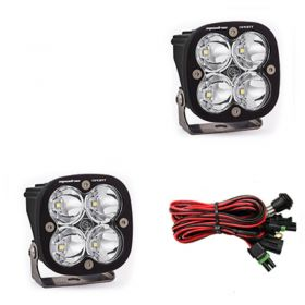 557801-RPSBA1466 - racingpowersports.com - Baja Designs Squadron Sport Pair ATV LED Light Spot Led Pattern