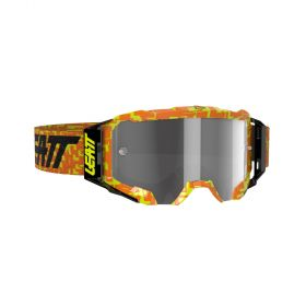 8020001055-RPSLE210 - racingpowersports.com - Leatt Velocity Goggle 5.5 Neon Orange Light Grey 58%