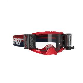 8020001090-RPSLE217 - racingpowersports.com - Leatt Velocity Goggle 5.5 Roll-Off Red Clear 83%