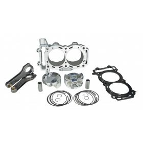 BBKP11900XP98-T-RPSSS197 - racingpowersports.com - Sparks Racing 975cc 9.0:1 Turbo Piston Big Bore Kit Polaris Rzr Xp 900