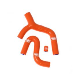 KTM-23-SO766 - racingpowersports.com - SAMCO Silicone Coolant Hose Kit KTM 400 EXC F Thermo Bypass 2008-2011