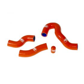 KTM-47-SO801 - racingpowersports.com - SAMCO Silicone Coolant Hose Kit KTM 450 XC-W Thermostat Bypass 2012-2016
