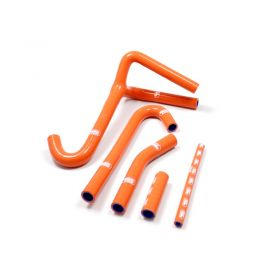 KTM-68-SO807 - racingpowersports.com - SAMCO Silicone Coolant Hose Kit KTM 500 MX Y Piece Race Design 1988-1996