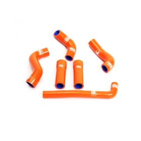 KTM-6-SO772 - racingpowersports.com - SAMCO Silicone Coolant Hose Kit KTM 450 EXC ( With Thermostat ) 2001-2007