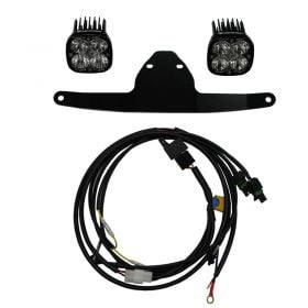 447027-RPSBA1878 - racingpowersports.com - Baja Designs Frame Mount LED Light Kit Sportsmen Honda Africa Twin 2015-2018