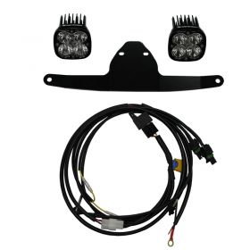 447028-RPSBA1879 - racingpowersports.com - Baja Designs Frame Mount LED Light Kit Pro Honda Africa Twin 2015-2018