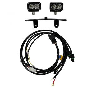 447030-RPSBA1881 - racingpowersports.com - Baja Designs Windscreen Mount LED Light Kit Pro Honda Africa Twin 2015-2018