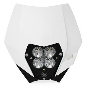 677061-RPSBA1890 - racingpowersports.com - Baja Designs XL80 LED Light Kit w/Headlight Shell KTM 2008-2013