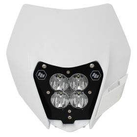 677091-RPSBA1891 - racingpowersports.com - Baja Designs XL80 LED Light Kit w/Headlight Shell KTM 2014-2016