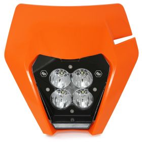 677094-RPSBA1893 - racingpowersports.com - Baja Designs XL80 LED Light Kit w/Headlight Shell KTM 2017
