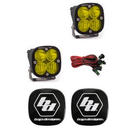 497813+668001-RPSBA2038 - racingpowersports.com - Baja Designs Squadron Pro LED Pair Driving/Combo Amber Light Kit & Rock Guards