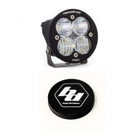 590003+668007-RPSBA2041 - racingpowersports.com - Baja Designs Squadron-R Pro LED Driving/Combo Light Kit & Rock Guard Black