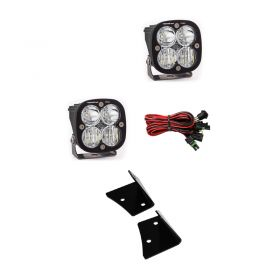 557803+447006-RPSBA2321 - racingpowersports.com - Baja Designs Squadron Sport Pair Driving/Combo LED Light & Mount Kit Jeep JK
