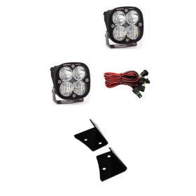 497803+447006-RPSBA2322 - racingpowersports.com - Baja Designs Squadron Pro Pair Driving/Combo LED Light & Mount Kit Jeep JK