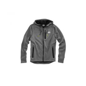 39004-001-RPSPE15 - racingpowersports.com - 100% Men's Council Lightweight Outershell Jacket Charcoal Heather
