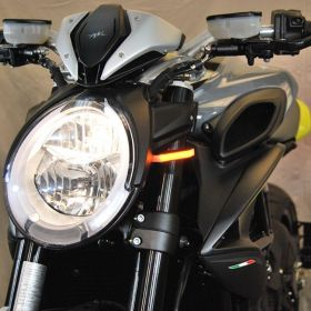 DRAG19-FB-RPSNC187 - racingpowersports.com - New Rage Cycles MV Agusta Dragster 800 2019-Present Front Turn Signals
