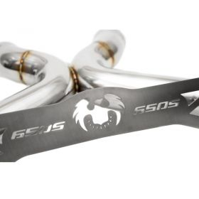 FS.MCL.650S.SSXLTBR-RPSFD385 - racingpowersports.com - Fabspeed McLaren 650S Supersport X-Pipe Exhaust System & LT Style Tips 2014+