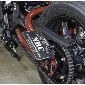 FTR-SIDE-RPSNC213 - racingpowersports.com - New Rage Cycles Side Mount License Plate Indian FTR 1200