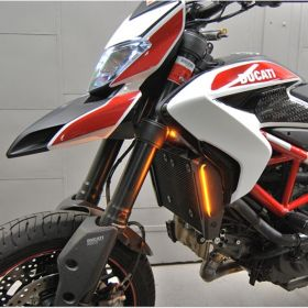 HYPER-SMS-RPSNC177 - racingpowersports.com - New Rage Cycles Ducati Hypermotard 821 Front Turn Signals
