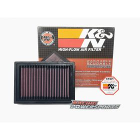 CM-9910-RPSKN1 - racingpowersports.com - Can-Am Ryker 600 / 900 / Rally K&N Air Filter Air Intake Drop In Washable Filter
