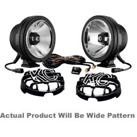 645-RPSKC353 - racingpowersports.com - Kc Hilites Pro-sport with Gravity LED G6 Pair Pack System Wide 40W
