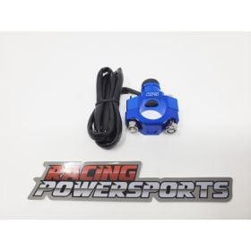 RPS15-RPS15 - racingpowersports.com - RacingPowerSports Universal ATV Dirt Bike Engine Kill Switch Aluminum Blue