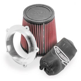 PD255-RPSPD28 - racingpowersports.com - Pro Design Pro-flow Air Filter Kit K&n Honda Rhino