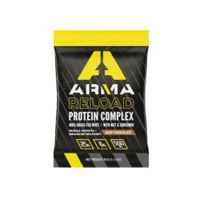 311-SS - racingpowersports.com - Arma Nutrition RELOAD Protein Complex Single Serve Packet (Deep Chocolate)