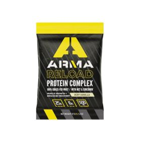 321-SS - racingpowersports.com - Arma Nutrition RELOAD Protein Complex Single Serve Packet (Very Vanilla)