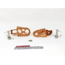 RPS_34 - racingpowersports.com - RacingPowerSports CNC Foot Pegs Footrest Pedals For KTM 125 530 EXC EXC-F 17-19