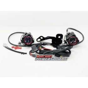 RPS_22 - racingpowersports.com - KC HiLites Can-Am Ryker 600 900 Rally LED Fog Light Kit Spread Beam