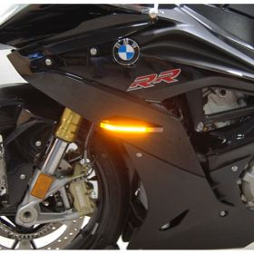 S1000RR-FB-RPSNC178 - racingpowersports.com - New Rage Cycles BMW S1000RR 2010 - Present LED Front Turn Signals