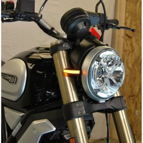 S1100-FB-RPSNC169 - racingpowersports.com - New Rage Cycles Ducati Scrambler 1100 Front Turn Signals