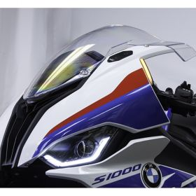 S1K20-FB-Block - racingpowersports.com - New Rage Cycles Front Turn Signals with Block Off Plates BMW S1000RR 2020+