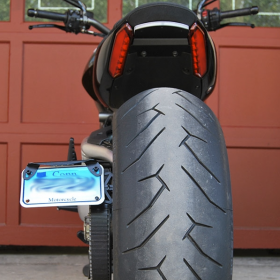 1260-Side - racingpowersports.com - New Rage Cycles Side Mount License Plate for Ducati Diavel 1260 2019+