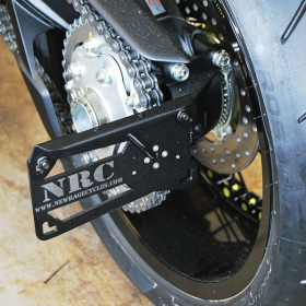 DRAG19-SIDE - racingpowersports.com - New Rage Cycles Side Mount License Plate for MV Agusta Dragster 800 2019-present