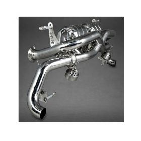 02AU00803001-RPSCO11 - racingpowersports.com - Capristo Audi R8 V10 Pre-Facelift X-Pipe Exhaust System with Remote