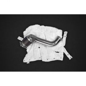 02ML110.720SportCat200-RPSCO707 - racingpowersports.com - Capristo Mclaren 720S 200 Cell Sports Cats Downpipes with Heat Blankets