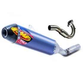 044401-RPSFF1 - racingpowersports.com - FMF 4.1 FULL EXHAUST BLUE CARBON END CAP CHAD WIENEN YAMAHA YFZ450R