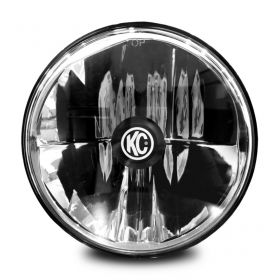 "4235-RPSKC196 - racingpowersports.com - Kc Hilites Gravity Led 7"" Headlight compatible with Jeep Jk 07-16 Dot Compliant"