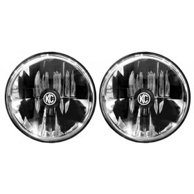 "42351-RPSKC200 - racingpowersports.com - Kc Hilites Gravity Led 7"" Headlight compatible with Jeep Jk 07-18 Pair Pack Dot"