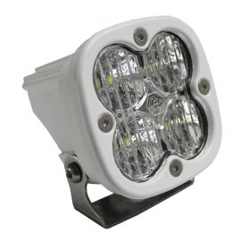 550005WT-RPSBA1491 - racingpowersports.com - Baja Designs Squadron Sport Marine White ATV LED Light Wide Cornering Pattern