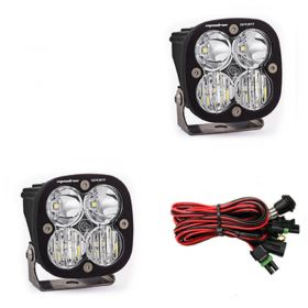 557803-RPSBA1465 - racingpowersports.com - Baja Designs Squadron Sport Pair ATV LED Light Driving Combo Pattern